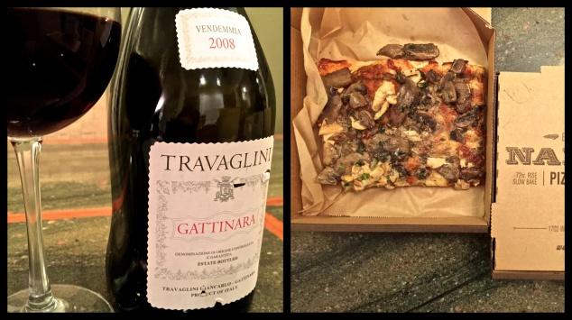 napizza nebbiolo and mushroom
